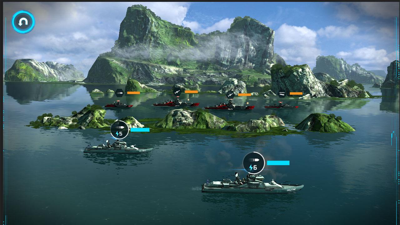 Naval Warfare Game