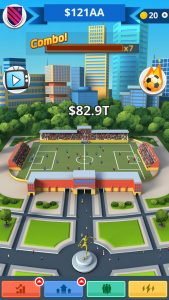 Tip Tap Soccer Game